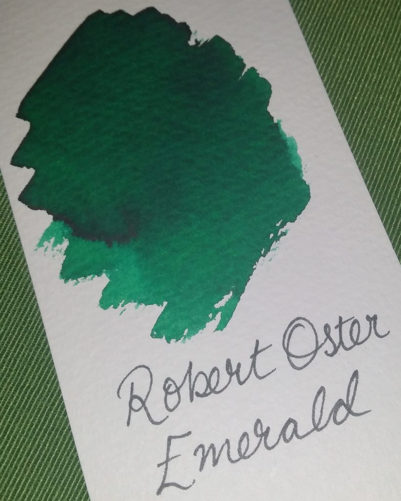 Robert Oster Signature Inks Claret and Emerald review